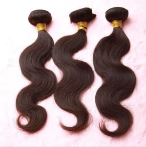 Factory Price Remy Virgin Brazilian Human Hair Extensions pictures & photos
