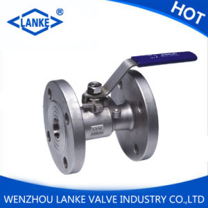 1PC Stainless Steel 304 Flanged Ball Valve