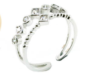 Hot Sale Woman′s Fashion 925 Silver Jewelry Ring (R10376) pictures & photos