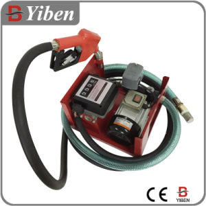 Electric Diesel Transfer Pump Assy with Auto Nozzle and Check Valve (ZYB60Auto-11A) pictures & photos