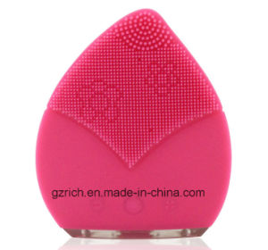 Electric Facial Brush Waterproof Silicone Facial Brush pictures & photos