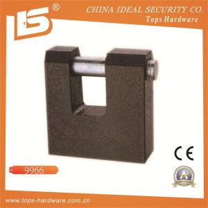 High Quality Iron Rectangle Padlock (9966) pictures & photos