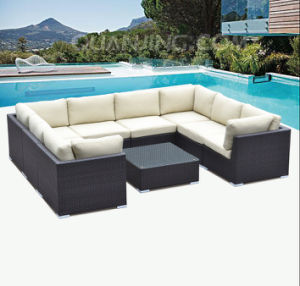 High End Rattan Wicker with Arm Sofa Set Garden Furniture pictures & photos