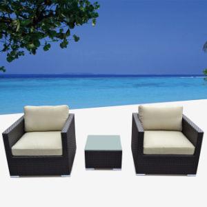 High End Rattan Wicker with Arm Sofa Set Garden Furniture
