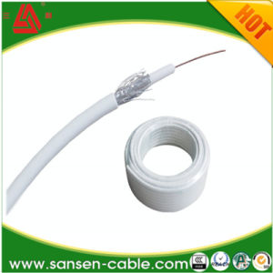 Coaxial Cable Rg59 (RG59 Cables/75ohm) with Ground Wire pictures & photos
