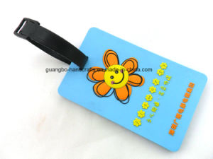 Funny Standard Size PVC Luggage Tag Strap pictures & photos