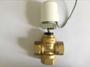 Brass 2 Way Linear Mixing Valve (a. 8001) pictures & photos