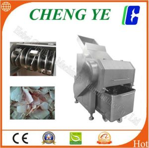 Frozen Meat Cutter/Cutting Machine with CE Certification 600kg Qk553 pictures & photos