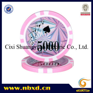 11.5g 8strpe Poker Chips with Customized Stickers (SY-D17D) pictures & photos