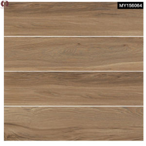 Four Designs Wooden Grain Ceramic Glazed Floor Tile (MY156064) pictures & photos