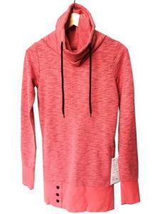 Eleven Ladies Yarn Dyed Cotton Polyester Fashion Whole Sale Custom Fleece Sweatshirts Hoodies