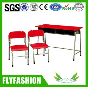 Classroom Student Desk and Chair with Two Seater pictures & photos