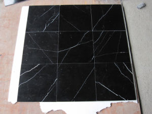 Nero Marquina Black Marble Tile