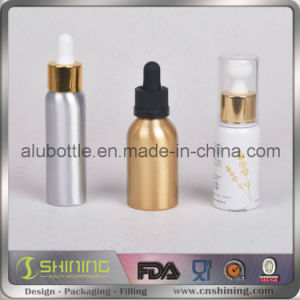 1oz E-Liquid Dropper Aluminium Bottle