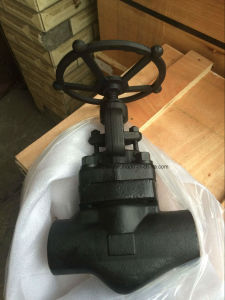 Forged Steel Socket Weld Globe Valve pictures & photos