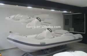 Liya 4.3m Fiberglass Inflatable Boat with Motor Sale pictures & photos