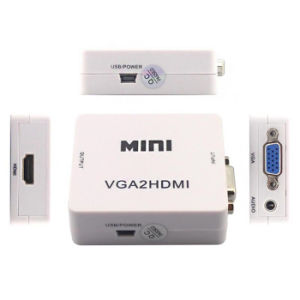 New Mini Frequency VGA to HDMI Signal Adapter Video Converter pictures & photos