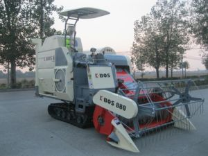 K-Bos Model 4lz-4.0z Rice Combine Harvester