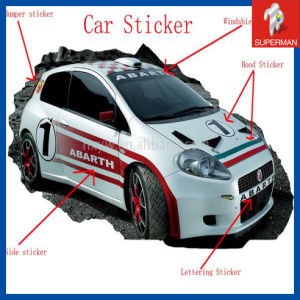 Advertising Car Stickers Kamos Sticker - Custom car decal advertising