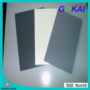 1-30mm Gray PVC Rigid Sheet Seller pictures & photos