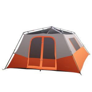 6 Persons Folding Pop up Quick Set up Tent for Outdoor Camping Polyester pictures & photos