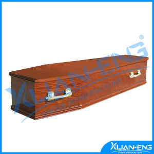 High Quality Cheap Funeral Euro Style Wooden Coffin pictures & photos