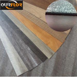 100% Waterproof Carpet-Grain PVC Vinyl Tile pictures & photos