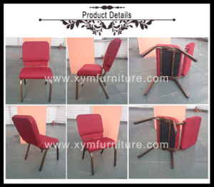 Hot Sale Stacking Metal Church Chair pictures & photos