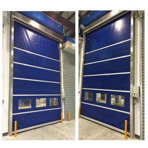 Plastic Industrial High Speed Rolling Door (HF-1099) pictures & photos