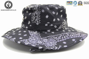 2016 New Bohemian Style Cotton Bucket Hat with Custom Embroidery pictures & photos
