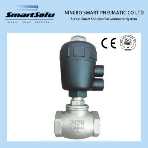 Smart Solenoid Valve Electric Angle Seat Valve Jzf-50e pictures & photos