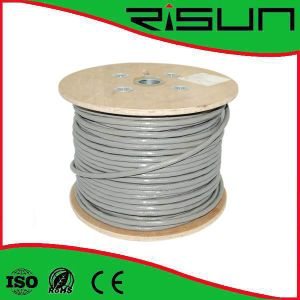 Cu/CCA/Tc Conductor (PVC+PE) Jacket UTP Cat5e with Steel Wire pictures & photos