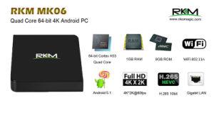 Cheap Amlogic S905 Mini TV Box Rikomagic Mk06 pictures & photos