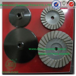 Silicon Carbide Cup Grinding Wheel-Diamond Carbide Grinding Cup Wheel for Stone pictures & photos