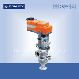 Sanitary Regulating Valve with Electric Actuator pictures & photos