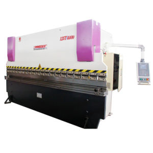 Wd67y 80/3200 2 Axis Cost Effective Hydraulic Press Brake Machine pictures & photos