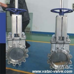 Handwheel Full Lug Knife Gate Valve pictures & photos