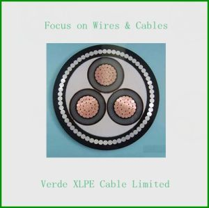 4core PVC / XLPE Cable, Armored Electric Cable pictures & photos