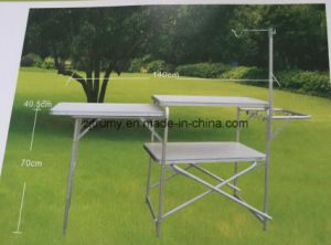Camping MDF BBQ Folding Table pictures & photos