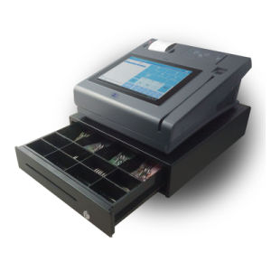Ce EMV Certified Android Touch Screen POS Machine with Barcode Scanner pictures & photos