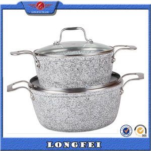 Wholesale Cookware Set with Stainless Steel Removable Handles pictures & photos