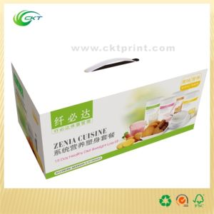Paper Packing Box with Handle (CKT-CB-337)