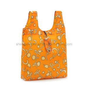 210d Polyester Shopping Bag with Small Pouch pictures & photos