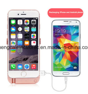 1000mA FCC Ce RoHS Certified Detachable Battery Case Power Bank for iPhone 6/6s/6p/6PS Battery Charger pictures & photos