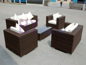 Hot Sale Brisbane Outdoor PE Rattan Furniture pictures & photos