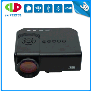 Cheapest 3D 1080P 2000 Lumens Mini Portable Phone LED Digital Projector pictures & photos
