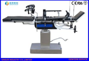 ISO/Ce Hospital Equipment General Use Manual Adjustable Surgical Operating Table pictures & photos