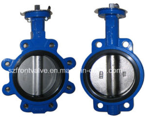 China Cast Iron Wafer And Lug Butterfly Valve China