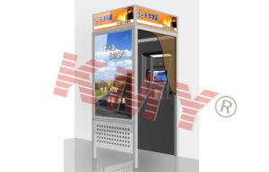 Outdoor Wall Mounted ATM Kiosk with Touch Screen pictures & photos
