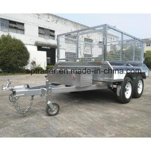 9X5 Galvanised Hydraulic Tipping Trailer